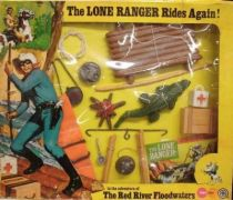 The Lone Ranger - Marx Toys - Accessory Set The Red River Floodwaters