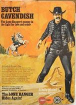 The Lone Ranger - Marx Toys - Figure Butch Cavendish (boxed)
