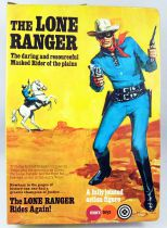 The Lone Ranger - Marx Toys - Figure The Lone Ranger (Mint in box)