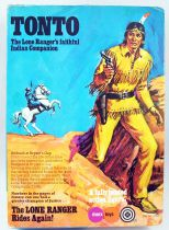The Lone Ranger - Marx Toys - Figure Tonto (Mint in box)