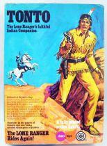 The Lone Ranger - Marx Toys - Mannequin Tonto (neuf en boite)