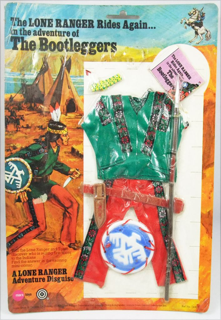 The Lone Ranger - Marx Toys - Outfit The Bootleggers