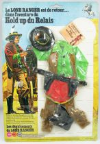 The Lone Ranger - Marx Toys - Outfit The Stage Robbery
