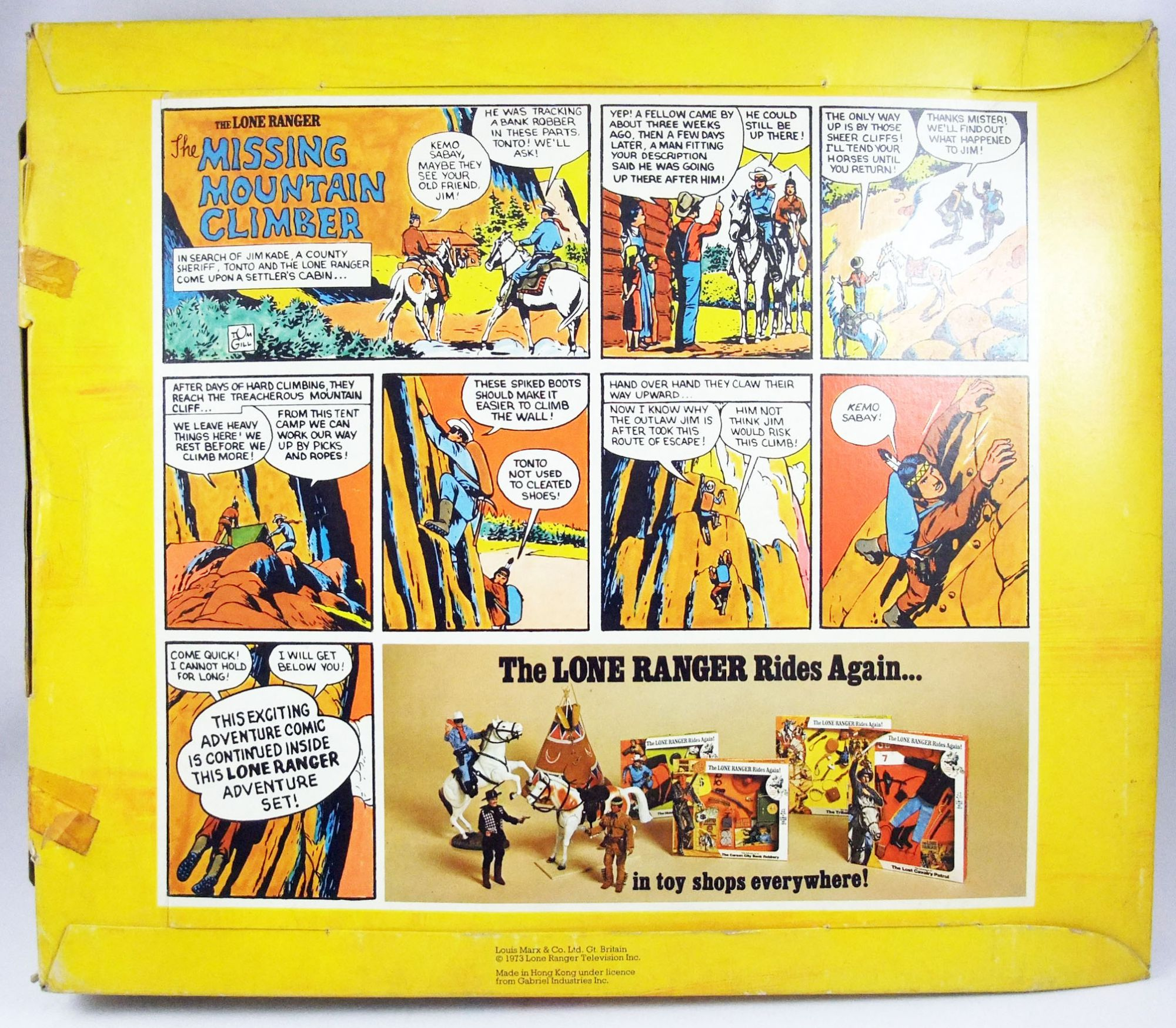 The Lone Ranger - Marx Toys - Panoplie Accessoire The Missing Mountain Climber