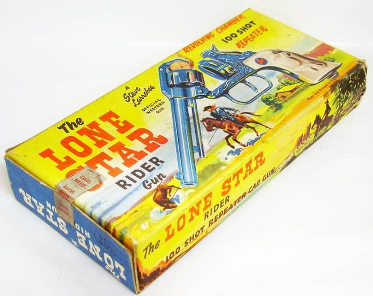 The Lone Star Rider - Steve Larrabee\'s 100 shot repeater cap gun