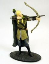The Lord of the Rings - Eaglemoss - #002 Legolas at Helm\\\'s Deep