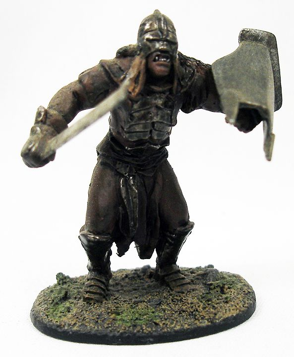 The Lord of the Rings - Eaglemoss - #023 Uruk-Hai Warrior at Amon Hen
