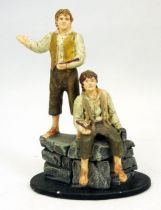 The Lord of the Rings - Eaglemoss - #034 Merry & Pippin at Isengard