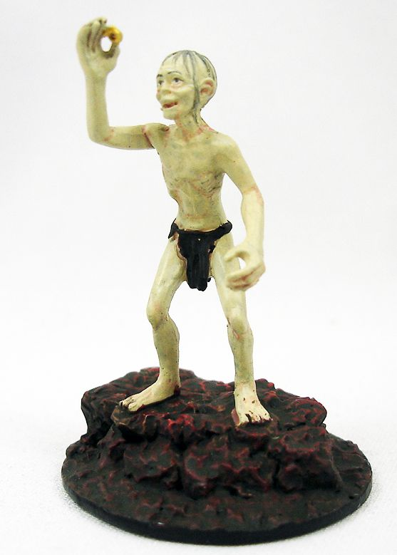 The Lord of the Rings - Eaglemoss - #103 Gollum at Mount Doom