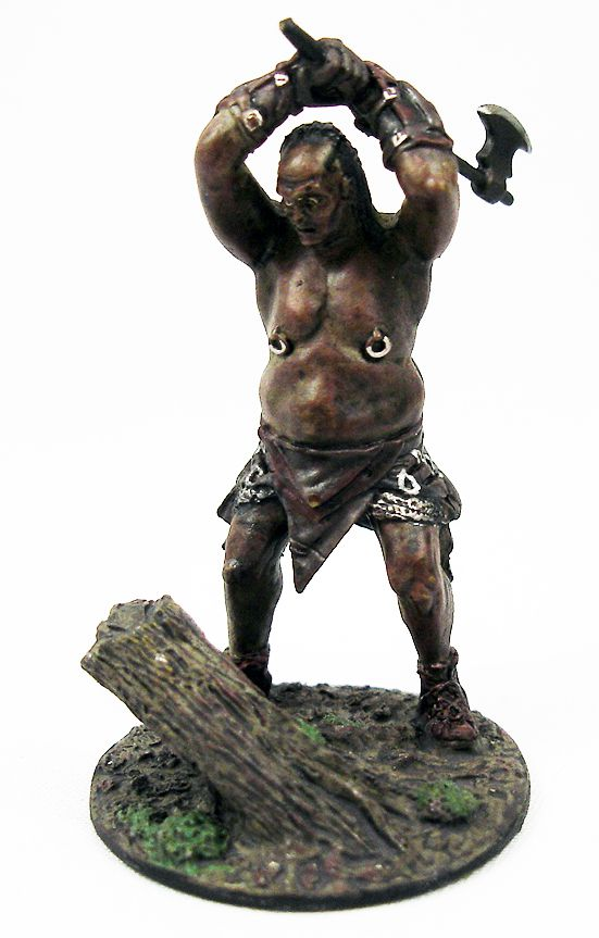 The Lord of the Rings - Eaglemoss - #122 Orc Axeman at fangorn Forest
