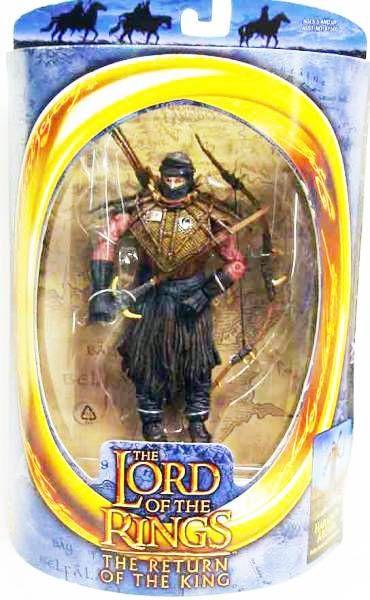 "Lord Of The Rings HARADRIM ARCHER Armored Return King 6/"" LOTR Toybiz Toy Biz NEW"