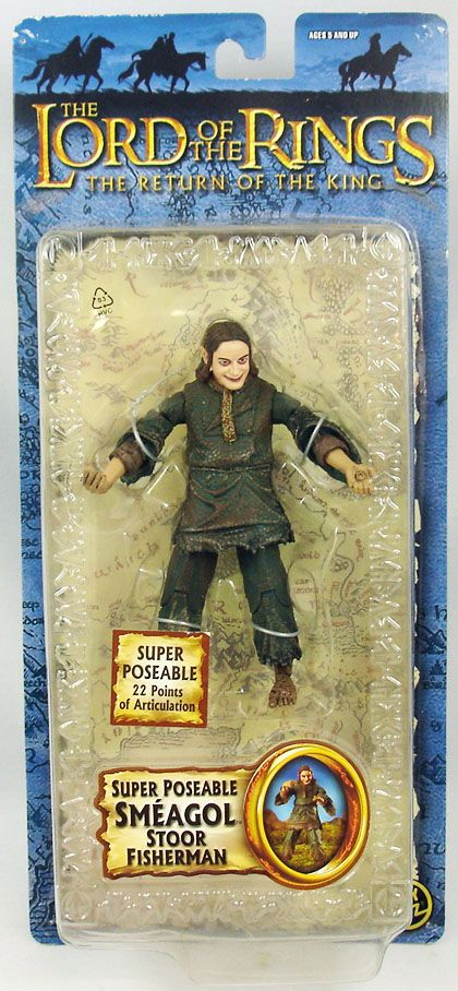 The Lord of the Rings - Smeagol Stoor Fisherman - ROTK Trilogy