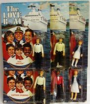 The Love Boat - Complete set of 6 action figures - Mego