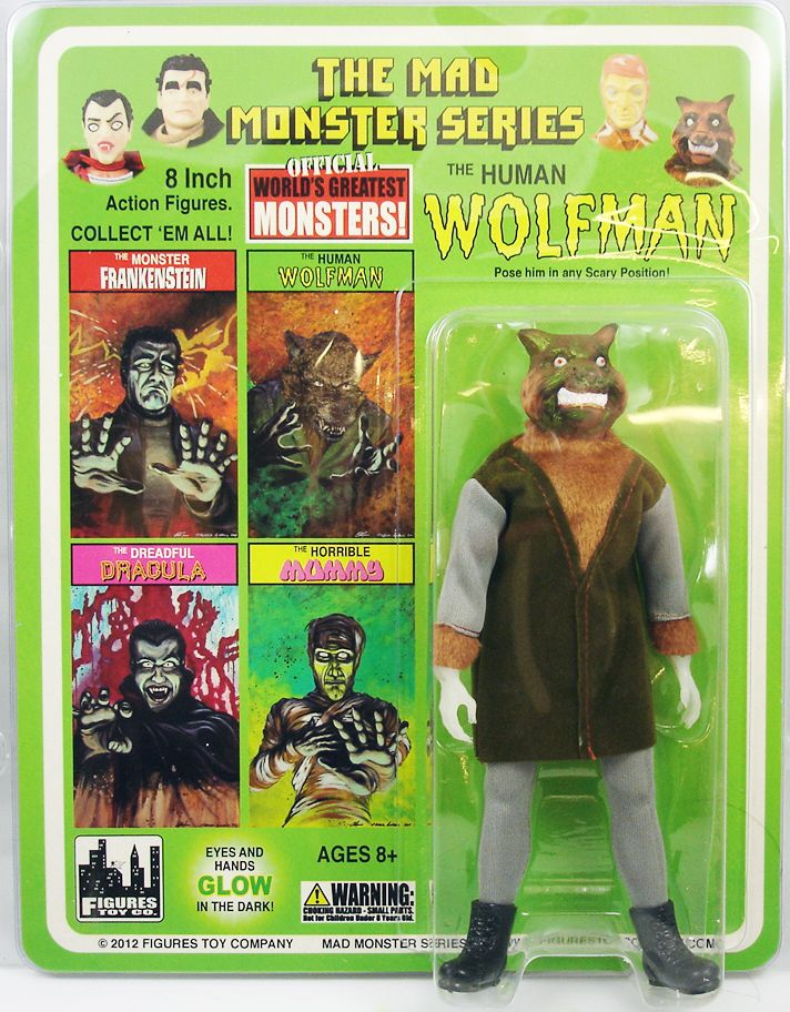 The Mad Monsters Series - The Human Wolfman - Figures Toy Co.