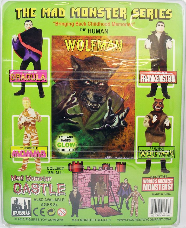 The Mad Monsters Series - The Human Wolfman - Figures Toy Co. (1)