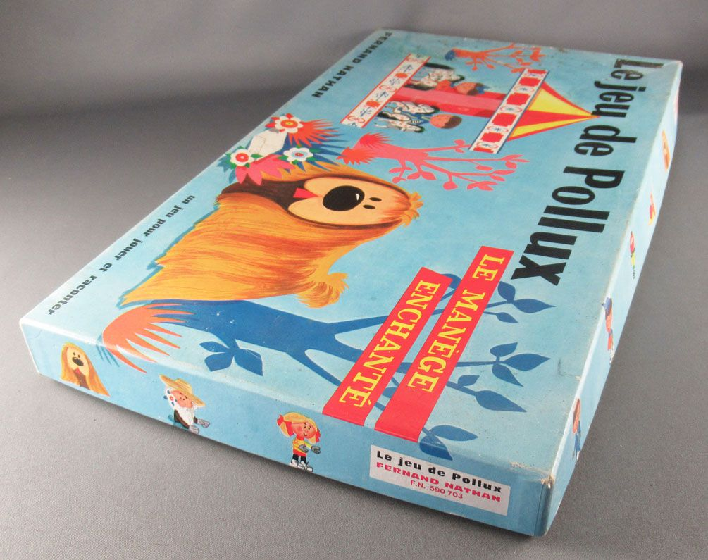 The Magic Roundabout - Dougal\'s board game - Fernand Nathan 590 703