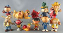The Magic Roundabout - Jim Figure - Complete Set 13 pieces
