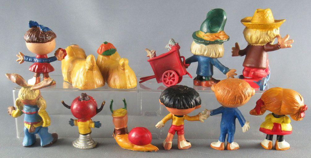 The Magic Roundabout - Jim Figure - Complete Set 13 pieces