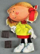 The Magic Roundabout - Magnetic Cardboard Figure Djeco 1966 - Coralie