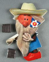 The Magic Roundabout - Magnetic Cardboard Figure Djeco 1966 - Mr Mac Henry