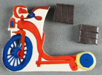 The Magic Roundabout - Magnetic Cardboard Figure Djeco 1966 - Mr Mac Henry\'s Cycle