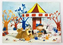 The Magic Roundabout - ORTF / Editions Yvon - Carte Postale n°1 Florence & Dougall in Roundabout