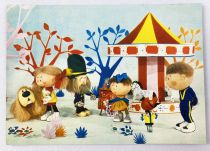 The Magic Roundabout - ORTF / Editions Yvon - Carte Postale n°3 Gardener and children
