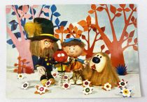 The Magic Roundabout - ORTF / Editions Yvon - Carte Postale n°8 Florence, Gardener, Dougall & Zeebedee