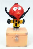 "The Magic Roundabout - Plastic Figure - Zeebedee on chest 2"" figure"