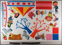 The Magic Roundabout - Plate of Magnetic Cut Figurines - Djeco 1966 1