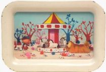The Magic Roundabout,  small Tin Tray