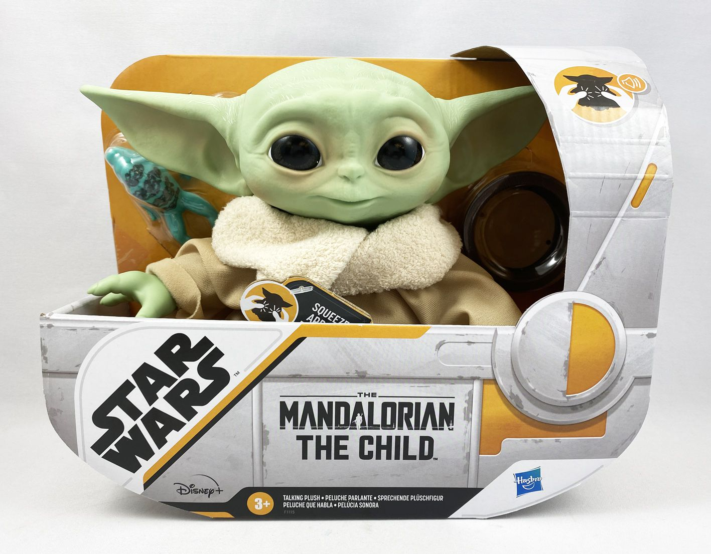 The Mandalorian - Peluche Parlante Hasbro - The Child