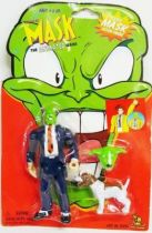 The Mask : The Animated Series -  Heads-up Mask - Figurine articulée 15cm - Toy Island 1997