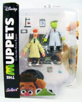 The Muppet Show - Bunsen Honeydew & assistant Beaker - Action-figure Diamond Select
