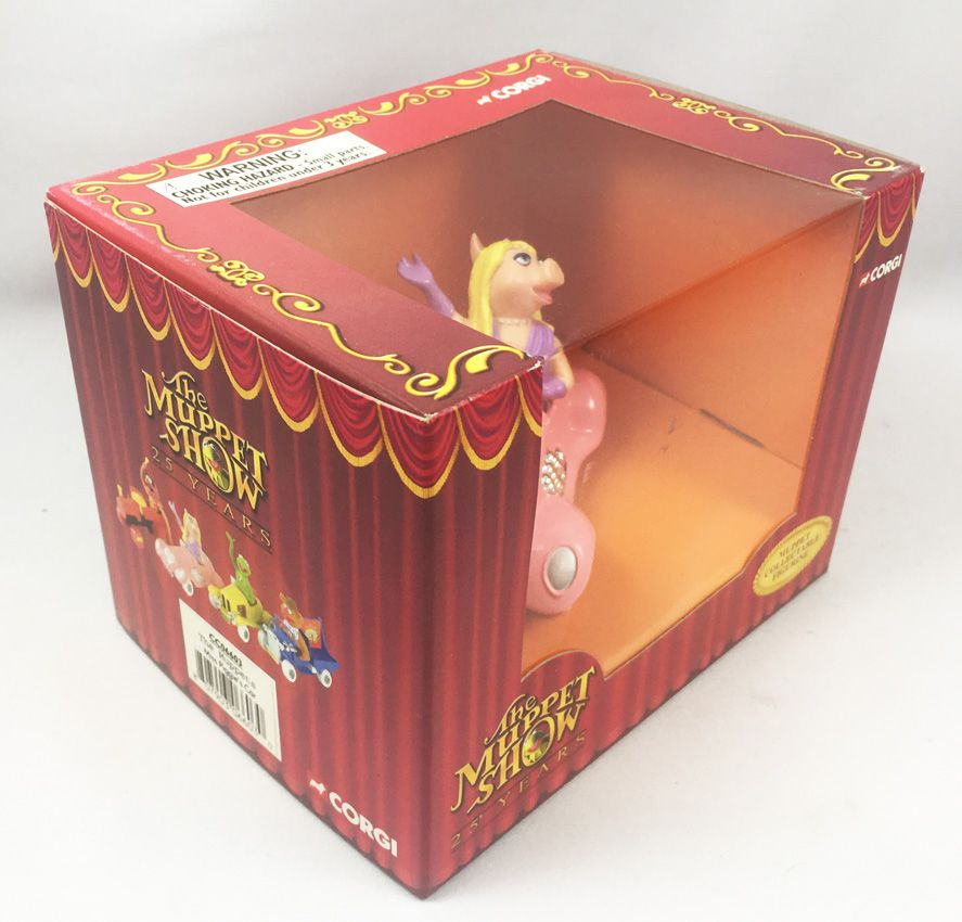 The Muppet Show - Corgi 2002 - Miss Piggy (mint in box)