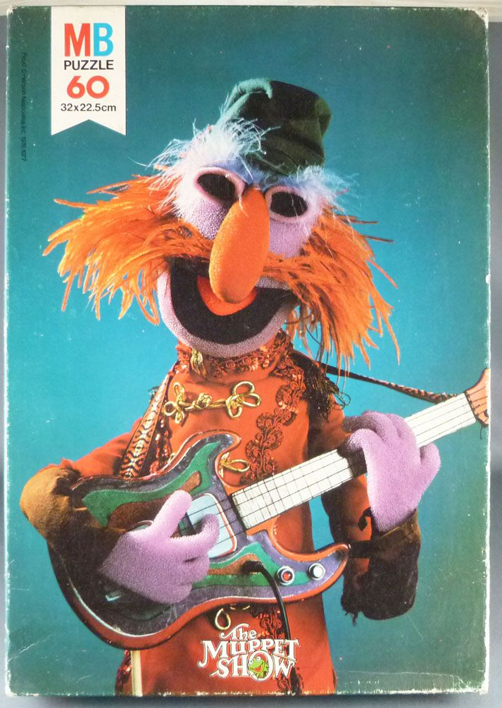 The Muppet Show - Floyd Pepper 60 pieces Puzzle - MB Puzzle (Ref # 3672 04))