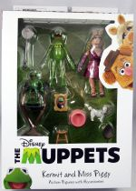 The Muppet Show - Kermit, Robin & Miss Piggy - Action-figure Diamond Select Best of Series
