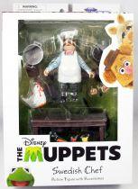 The Muppet Show - Le Chef Suédois - Action-figure Diamond Select Best of Series