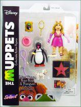The Muppet Show - Miss Piggy, Foo-Foo & Penguin - Action-figure Diamond Select