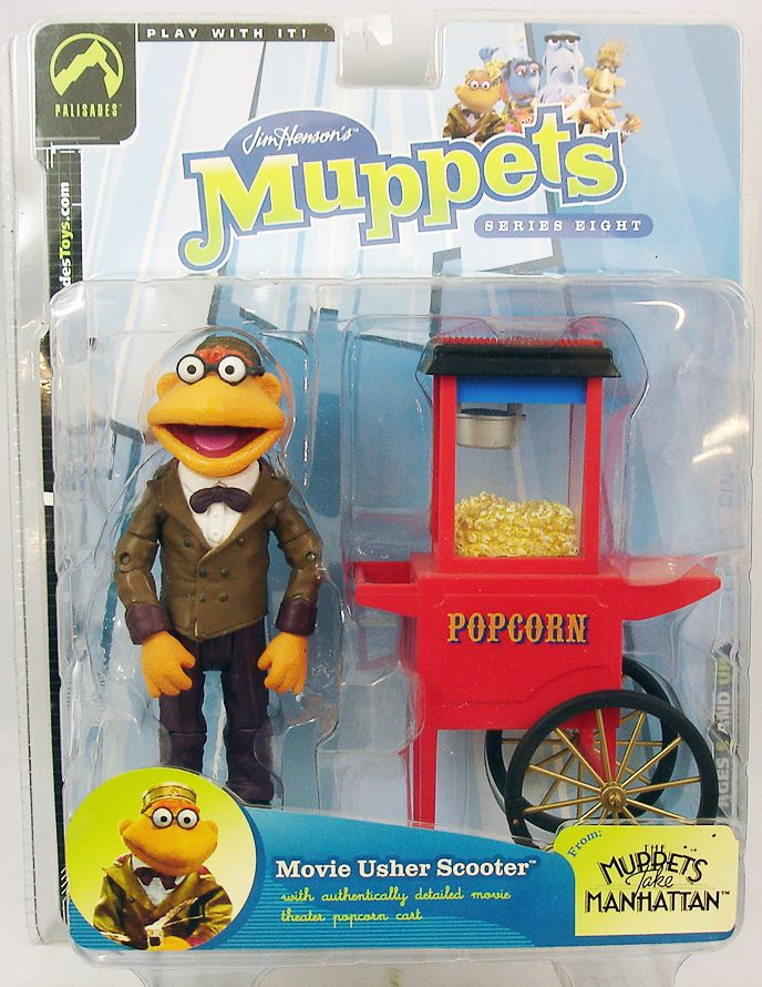 The Muppet Show - Palisades Action Figure - Movie Usher Scooter