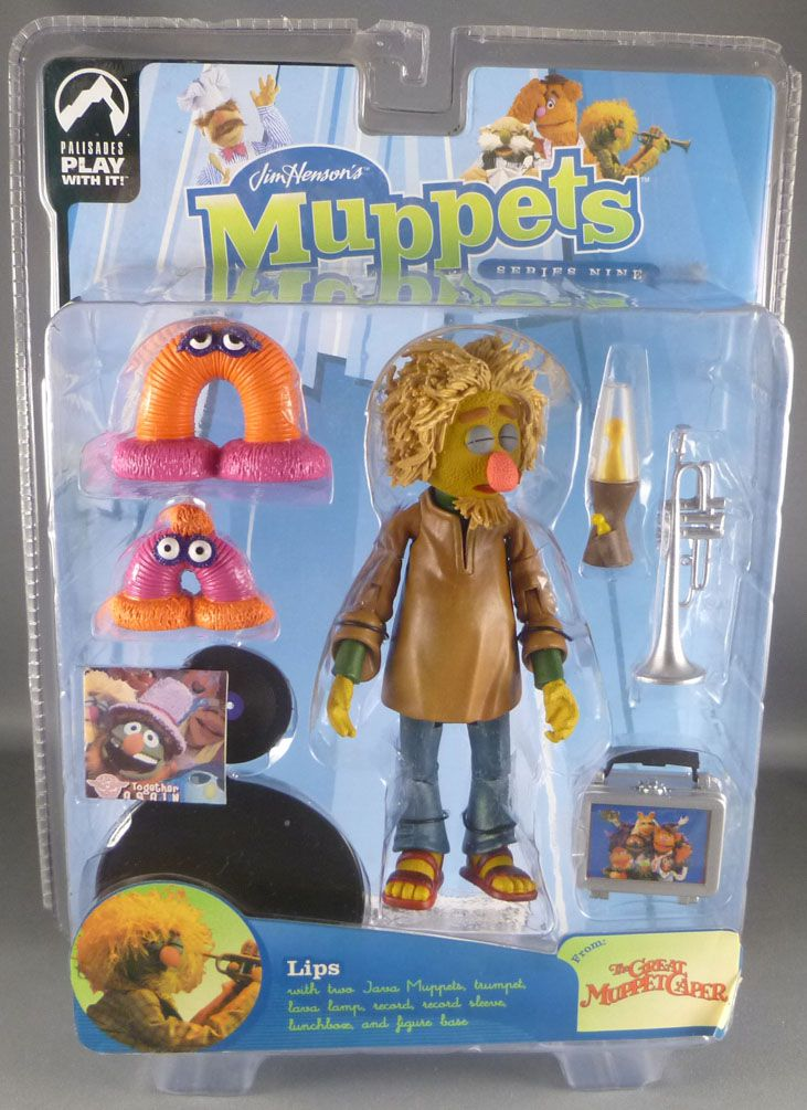 The Muppet Show - Palisades Action Figure - Lips