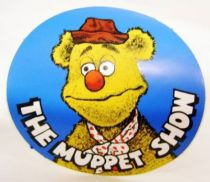 The Muppet Show - Promotional Sticker 1977 - Fozzie Bear