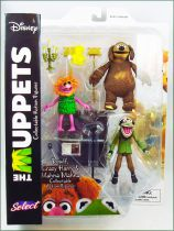 The Muppet Show - Rowlf, Crazy Harry & Mahna Mahna - Action-figure Diamond Select