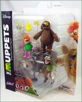 The Muppet Show - Rowlf, Crazy Harry & Mahna Mahna - Action-figure Diamond Select