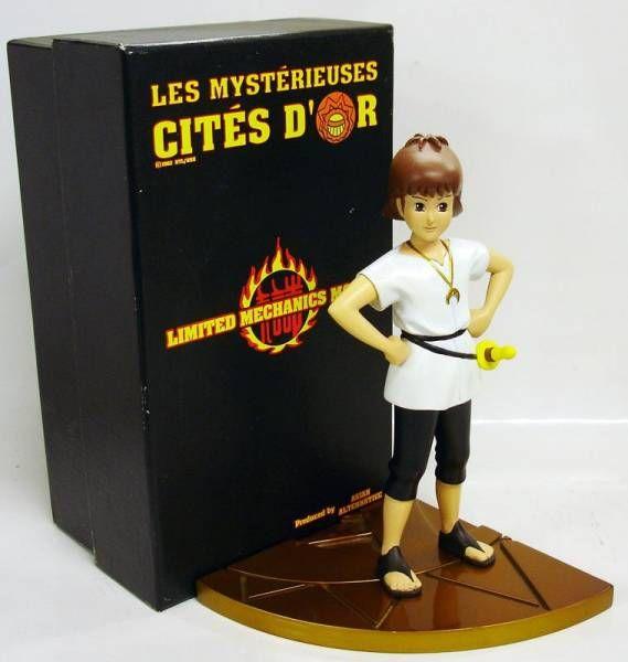 Esteban Cités Résine D'or Alternative Mysterieuses Statue Les Asian y8vOnwN0Pm
