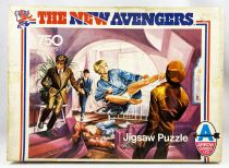 The New Avengers - Jigsaw Puzzle 750p #2 (Arrow Games Ltd 1976)