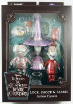 "The Nightmare before Christmas - Diamond Select - Lock, Shock & Barrel \""Best of Series\"""