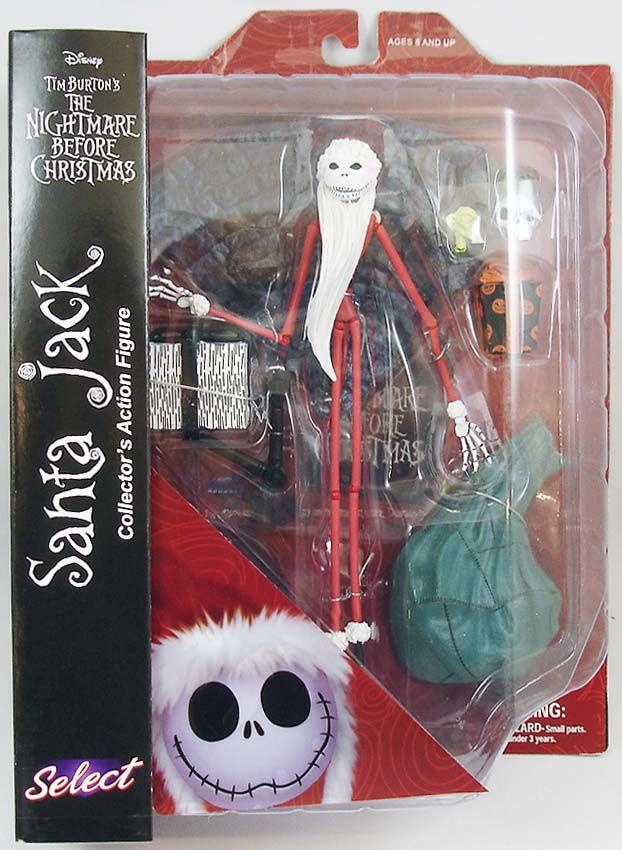The Nightmare before Christmas - Diamond Select - Santa Jack