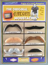 The Original Flandriens - Cycliste - Moustaches de Déguisement