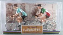 The Original Flandriens - Cycliste Métal - Les Equipes Mythiques - Bianchi & Italien
